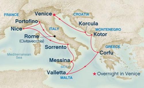 Crucero Europa Mediterraneo